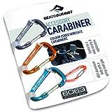 Sea to Summit Accessory Carabiner Set 3pcs Accesorios Escalada, Adultos Unisex, Azul, Talla Única