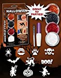 Kit per Tatuaggi Glitter Halloween - IPOALLERGENICI e DERMATOLOGICAMENTE TESTATI!