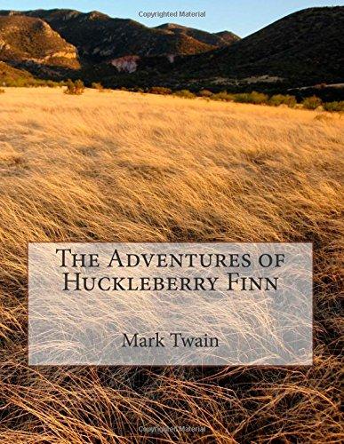 """The Adventures of Huckleberry Finn: [8.5"""" x 11"""" Edition]"""