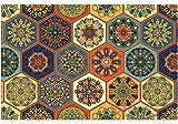 matches21 Orientalische Tischsets Platzsets MOTIV Marokko bunte Fliesen/Mosaik Optik 12er Set Kunststoff je 43,5x28,5 cm abwaschbar