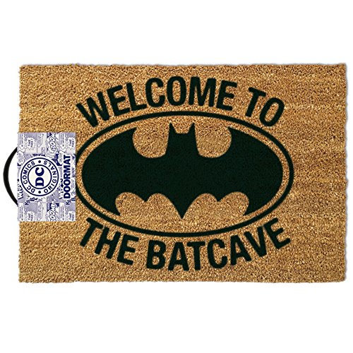 Felpudos Cómics Batman Welcome To The Bat Cave Door Mat