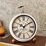 Best Vintage Alarm Clocks - LambTown Vintage Retro Alarm Clock Quartz Movement Silent Review