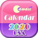 France 2020 Cawaii Calendrier pour Fire tablette...