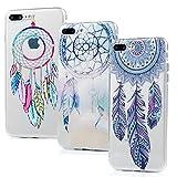 Badalink Lot de 3 Coque pour iPhone 7 plus / iPhone 8 plus, Case Housse Étui Bumper...