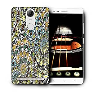 Snoogg Yellow Dried Leaves Printed Protective Phone Back Case Cover For Lenovo K5 Note