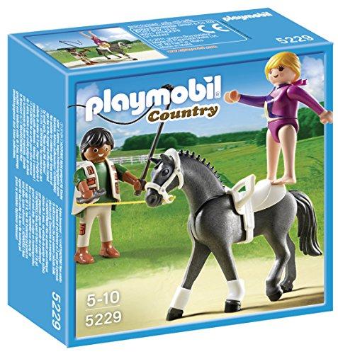 Playmobil - 5229 - Jeu de Construction - Dresseur de Chevaux et Voltigeuse