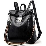 Rucksack Damen Mode Rucksack Umhängetasche 2 In 1 Wasserdichter Schulrucksack Freizeitrucksack Tagesrucksack Anti-Theft Daypa