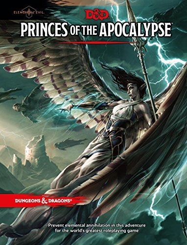 Princes of the Apocalypse (Dungeons & Dragons Accessories) by Wizards RPG Team (2015-04-07)