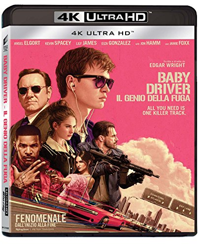 FILM - BLURAY 4K - BABY DRIVER - IL GENIO DELLA FUGA - BLURAY 4K (1 Blu-ray)