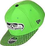 New Era Herren Caps/Snapback Cap NFL on Field Seattle Seahawks 9Fifty Grün S/M