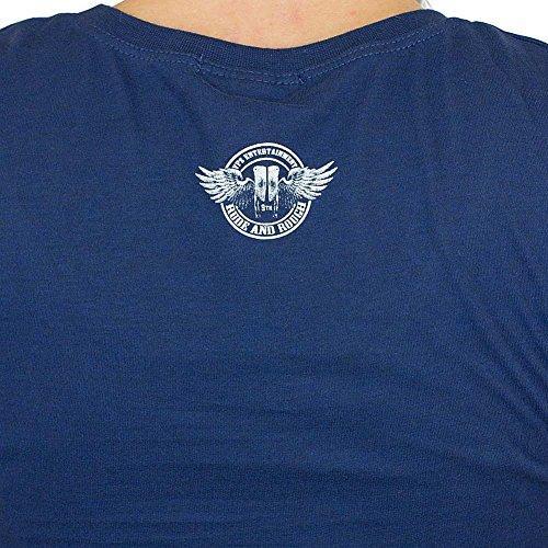 Yakuza Premium Damen T-Shirt 2137 blau Blau