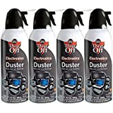 Dust-Off Disposable Compressed Gas Duster 10 oz Cans 2 Pack 4 Pack
