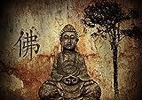 Poster Bouddha Relaxation Zen Art 02