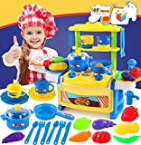 #9: Toys Bhoomi Dream Kitchen Interactive Little Chef Kids Simulation Cookware Play Set with Light & Sound