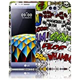 LG X Cam Comic Haha Silikon Schutz-Hülle weiche Tasche Cover Case Bumper Etui Flip smartphone handy backcover Schutzhülle Handyhülle thematys®