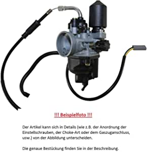 Vergaser Dellorto Phva 14 Qd 2t E Choke Typ 08380 Auto