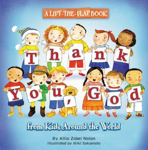 Thank You, God: A Lift-the-Flap Book (From