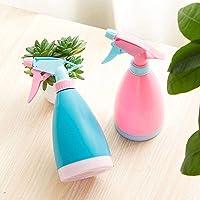 MOP N ME - Your Helping Hand Empty Plastic Refillable Fine Mist Reusable Spray Bottle (Multicolor, 500 ml) -2 pcs