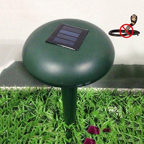 Animal Repeller Repelente ultrasónico solar de la serpiente Repulsor animal sónico para el patio, jardín, al aire libre