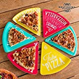 Platos para Pizza Colors Bravissima Kitchen (6 piezas)