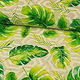 Stoffe Werning Dekostoff Palmenblätter Canvastoffe - Preis
