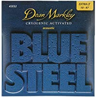 Dean Markley DM-2032-XL - Juego de cuerdas para guitarra acústica de acero, .010 - .048
