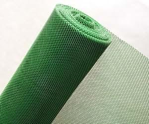 HaGa-Welt RT7/120BIS Grillage à maille en matière plastique Brise-vent protection contre amphibiens et reptiles Vert foncé Maille 5 mm Largeur 1,2 m Au mètre