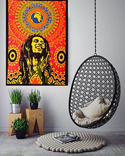 """Bob Marley Póster de pequeño tamaño 40""""x30"""" funda tapiz colgar en"""