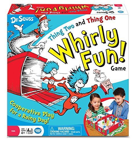 Dr. Seuss Thing Two Thing One Whirly Fun Game by Wonder Forge