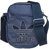adidas Originals Mens Trefoil Team Mini Bag Small Items In Collegiate Navy/White