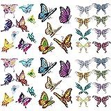 Tatuaggi Temporanei Farfalla 3D Per Donne Sexy 6 Pezzi Di Tatuaggi Adesivi Impermeabili Di Lunga Durata Per Tatuaggi Corpo Sexy 10 5 X 14 Cm 8 Cm / 4 13 X 5 Pollici 82 Cm (Lxw)