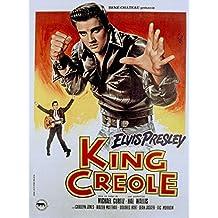 King Creole, Elvis Presley & Carolyn Jones, Walter Matthau, 1958 - Foto-Reimpresión película Posters 24x32 pulgadas - sin marco