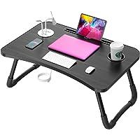 Elekin Table de Lit pour Ordinateur Portable Pliante Debout Multi-Fonction Ordinateur Portable Table de Lit Support de…