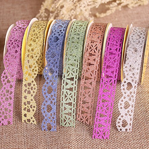 Goodlucky365 Multicolor Self Adhesive Scrapbooking Decorating