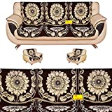 #5: FAB NATION 10 Sofa Panels for a 5 seater sofa - Brown sofa cover
