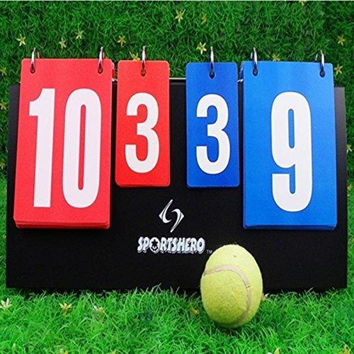 Scoreboard Portable Multi Sports Volleyball Basketball Table Tennis Set Score by Sportshero