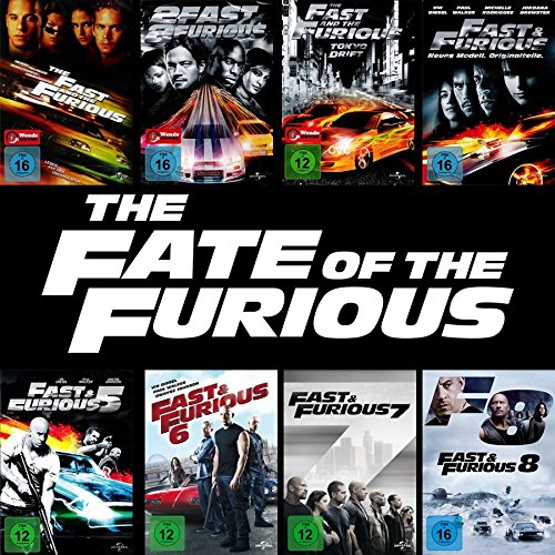 fast and furious dvd box Fast and the Furious 1 - 8 Collection (8-DVD) Kein Box-Set