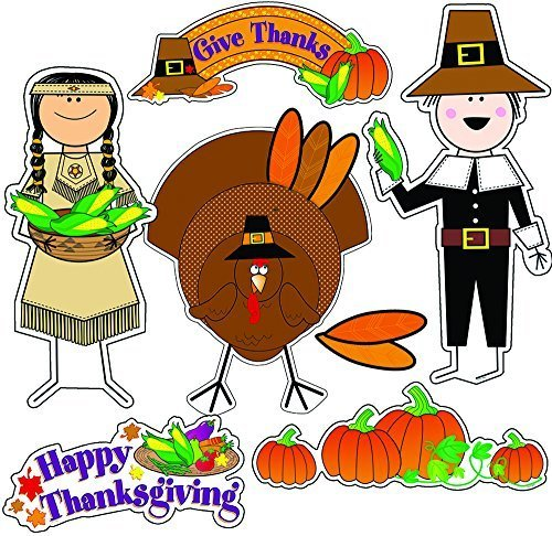 ess Thanksgiving Bulletin Board Set (1654) by Creative Teaching Press ()