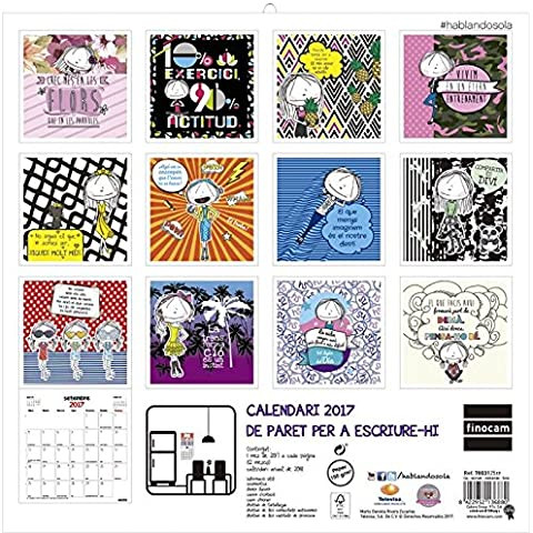 Calendari paret Hablando sola 2017