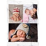 yyfq Coperta Personalizzata con Foto. Regali Personalizzati con Foto. Coperta Personalizzata Stampata su 1 Lato. (100x150cm)