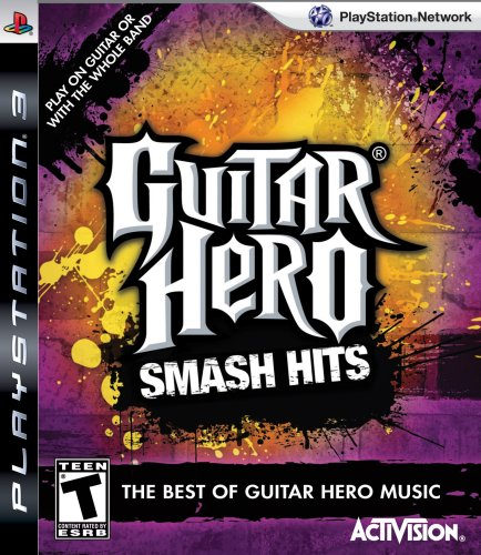 Activision Guitar Hero: Smash Hits, PS3 PlayStation 3 Inglés vídeo - Juego (PS3, PlayStation 3, Música, Modo multijugador, T (Teen))