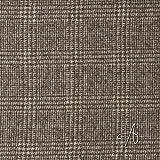 MIRABLAU DESIGN Stoffverkauf Glencheck Karo Wollstoff braun (1-212M), 0,5m
