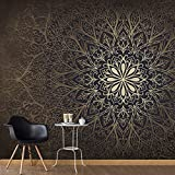 murando - Vlies Fototapete 200x140 cm - Vlies Tapete - Moderne Wanddeko - Design Tapete - Ornament Abstrakt f-A-0491-a-b
