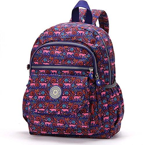 foru-womens-sport-backpack-clas-seoul-bag-waterproof-hiking-cycling-13-inch-laptop-schoolbag-daypack