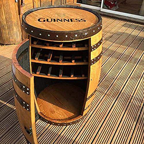 Cheeky Chicks Madera Maciza de Roble Barril de Whisky de Guinness Balmoral...