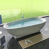 Freistehende Design Acryl Badewanne 1800 x 800 x 580 Standbadewanne