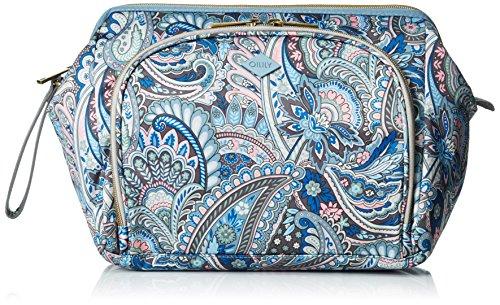 Oilily Damen Frame Beauty Kit Kosmetiktäschchen, Blau (Legend Blue 550), 29x15x20 cm