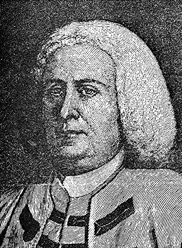 The Poster Corp Robert Dinwiddie/N(1693-1770). British Administrator In America; Lieutenant Governor of Colonial Virginia. Wood Engraving 19Th Century. Kunstdruck (45,72 x 60,96 cm) -
