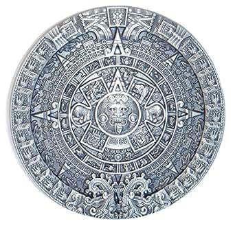 B57 Boucle de ceinture calendrier aztèque