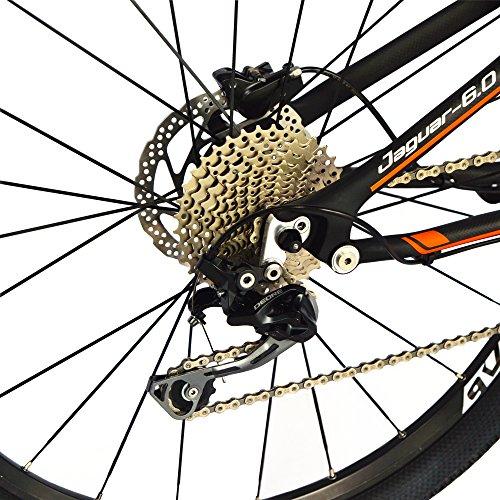 61qWLoTQJlL. SS500  - BEIOU Carbon Dual Suspension Mountain Bicycles All Terrain 27.5 Inch MTB 650B Bike SHIMANO DEORE 10 Speed 12.7kg T700 Frame Matte 3K CB22